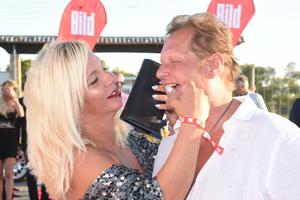 Bild von Daniela und Jens Büchner in glücklichen Tagen