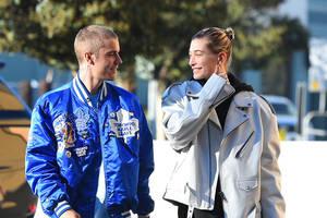 Bild von Justin Bieber und Hailey Baldwin