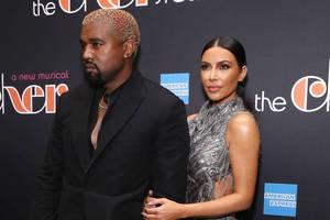 Bild von Kanye West und Kim Kardashian