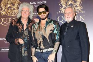 Bild von Brian May,Adam Lambert und Roger Taylor