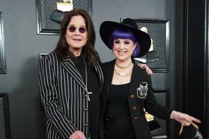 Bild von Ozzy und Kelly Osbourne
