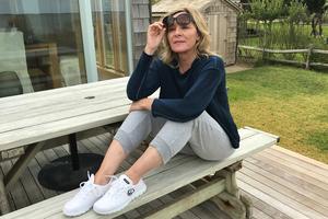 Bild von Die frisch in den USA eingebürgerte Kim Cattrall will vor allem relaxen