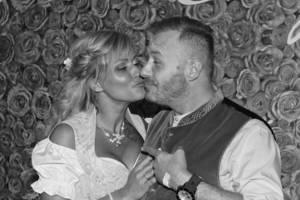 Bild von Willi Herren und seine Frau Jasmin